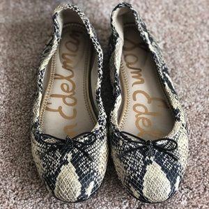 Sam Edelman Felicia Ballet Flats in Snake Print